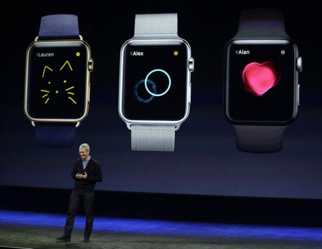 Apple Watch tanıtıldı işte tüm özellikleri