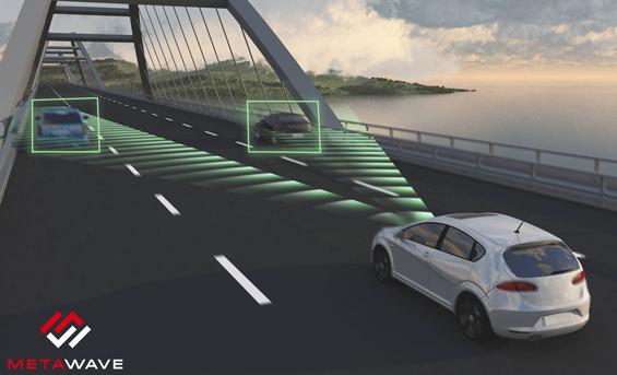Metawave Sürücüsüz araçlar için dijital göz